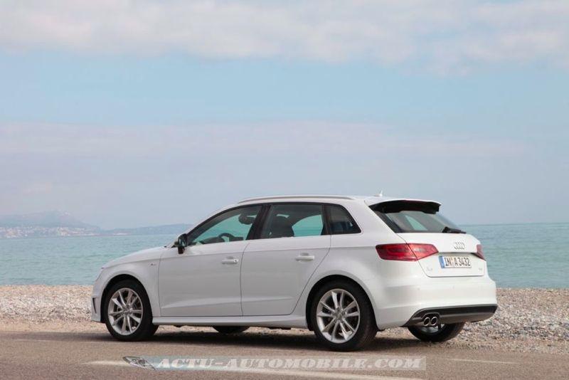 Essai Audi A3 Sportback 2 0 Tdi 184 Ambition Luxe Actu