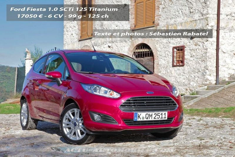 essai nouvelle ford fiesta 1 0 ecoboost 125 actu automobile. Black Bedroom Furniture Sets. Home Design Ideas