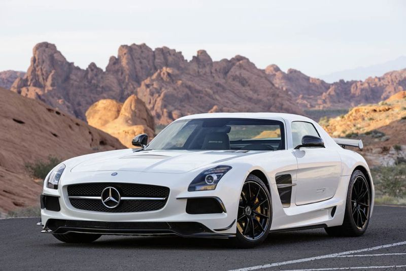 SLS AMG coupé Black Series