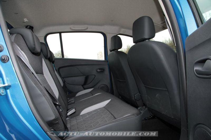 essai dacia sandero stepway prestige dci 90 actu automobile. Black Bedroom Furniture Sets. Home Design Ideas