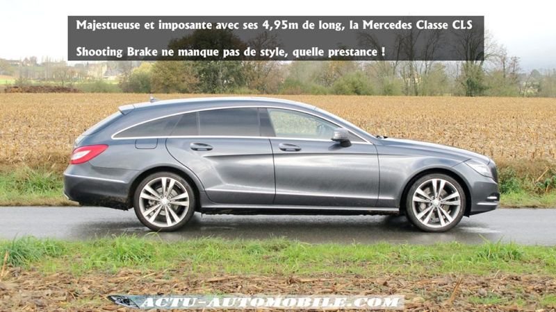 essai mercedes classe cls shooting brake 350 cdi actu automobile. Black Bedroom Furniture Sets. Home Design Ideas