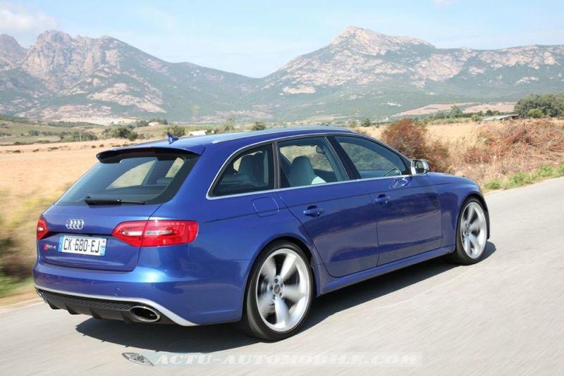 Audi RS4 Avant V8 4.2 450 ch