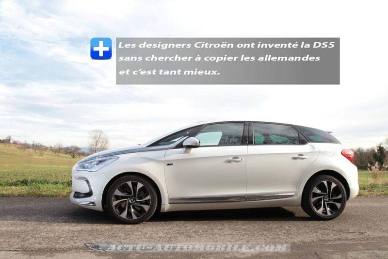 Citroën DS5 Hybrid4 Sport Chic