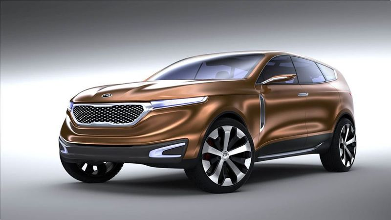 Kia concept Cross GT