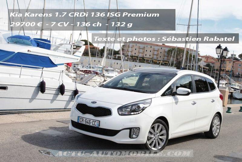 Kia Carens 1,7 diesel CRDi 136 Premium