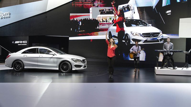Mercedes-Benz at the Geneva International Auto Show 2013