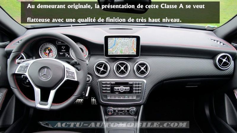 essai mercedes classe a 220 cdi fascination actu automobile. Black Bedroom Furniture Sets. Home Design Ideas