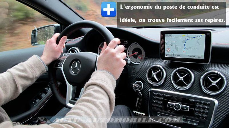 Volant Mercedes Classe A Fascination