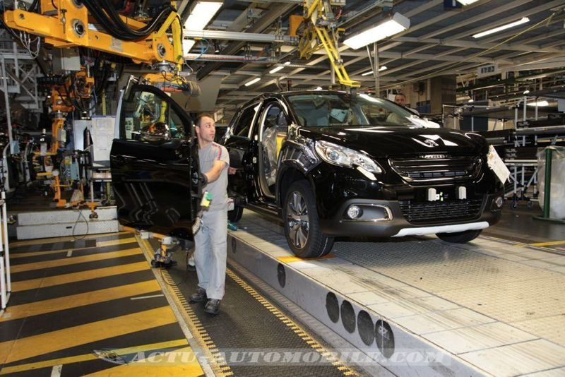 Reportage : le Peugeot 2008 en production à Mulhouse