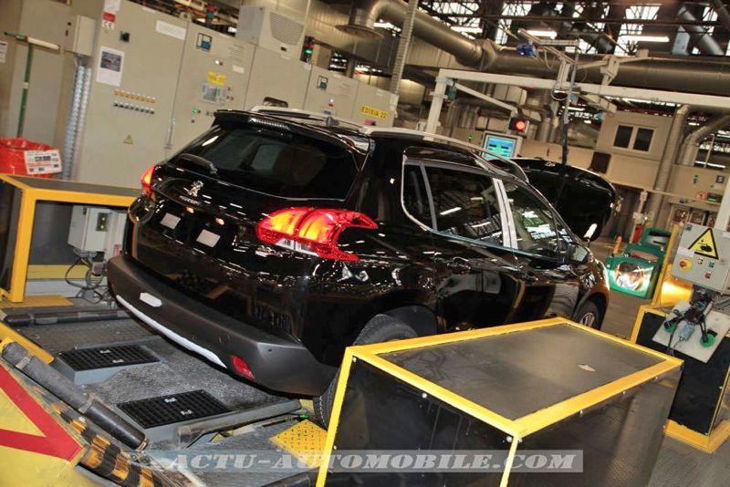 Reportage : le Peugeot 2008 en production à Mulhouse