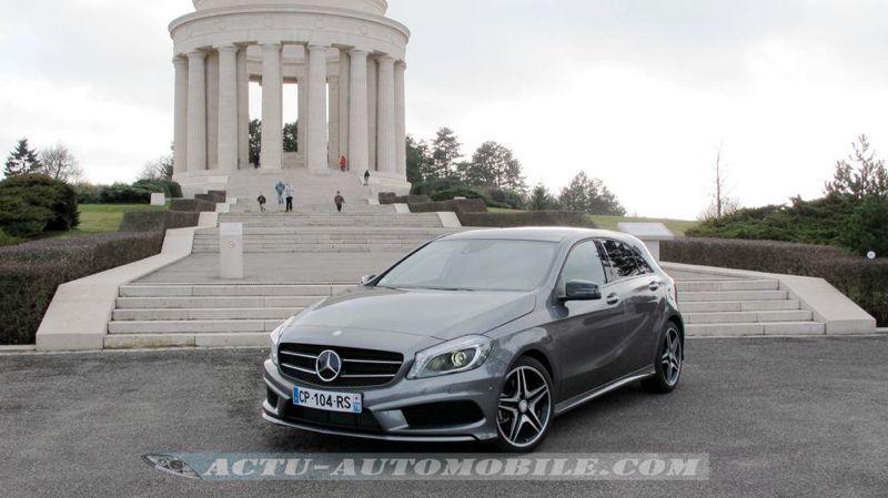 Essai Mercedes Classe A  Cv G Dct