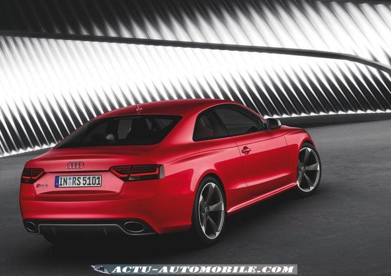 Audi RS5 restylée
