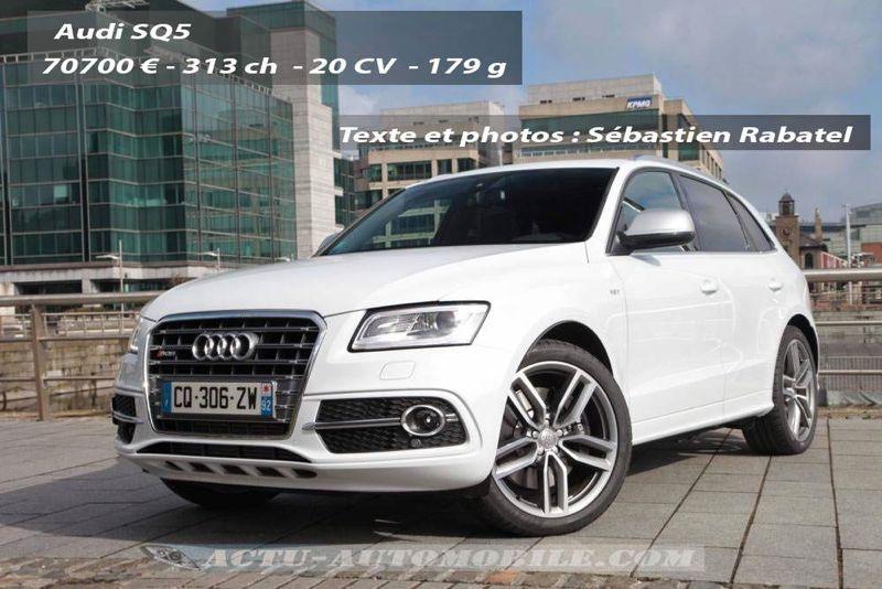 Essai Audi SQ5