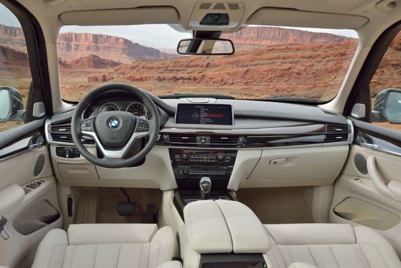 Planche de bord nouvelle BMW X5 2013