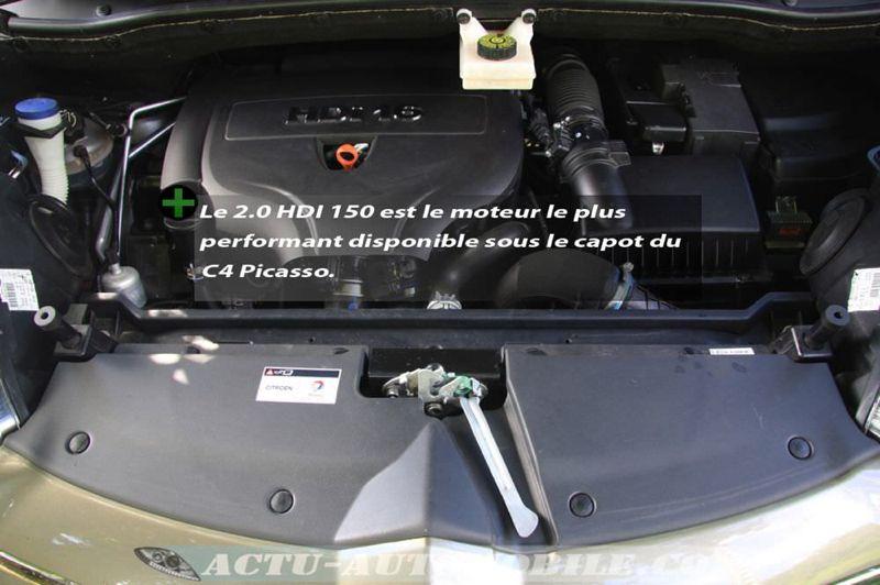 Essai Citroën C4 Picasso HDI 150