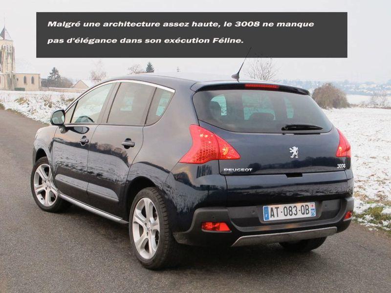 Essai Peugeot 3008 THP 156 BVA