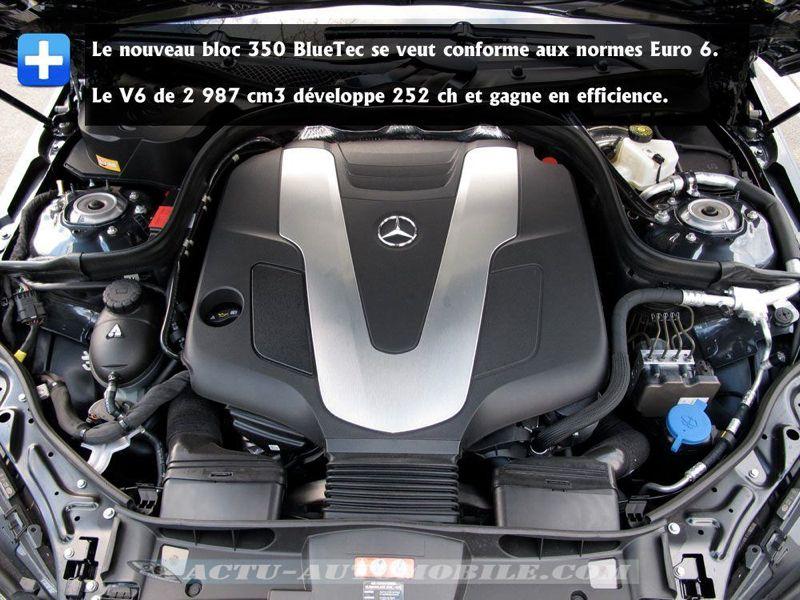 Essai Mercedes Classe E 350 Bluetec