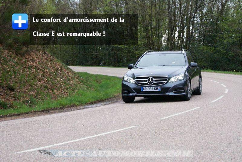 Essai Mercedes Classe E Break