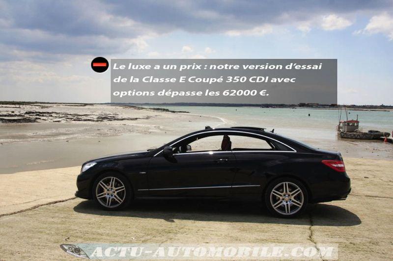 Mercedes Classe E coupé 350 CDI