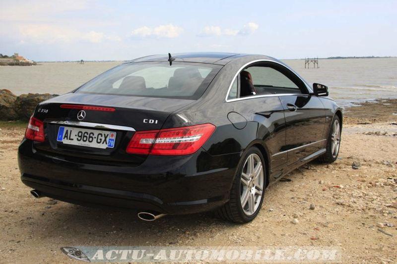 Mercedes classe e coup 350 cdi - Mercedes classe e coupe 350 cdi pack amg ...