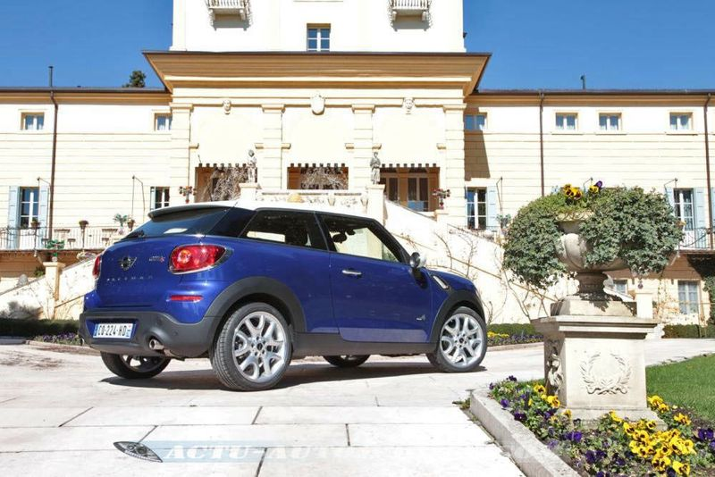 essai mini paceman cooper s all4 le croisement actu automobile. Black Bedroom Furniture Sets. Home Design Ideas