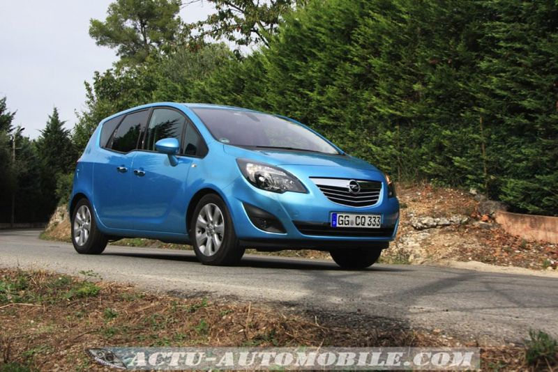 Essai Opel Meriva
