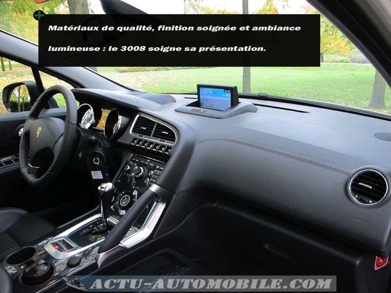 Peugeot 3008 HDI 163 BVA