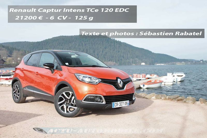 essai renault captur 1 2 tce 120 edc intens l 39 avenir s. Black Bedroom Furniture Sets. Home Design Ideas