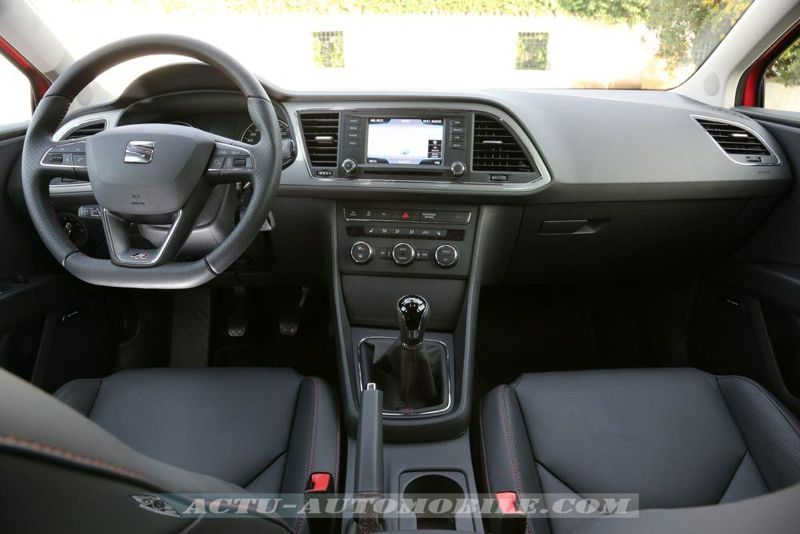 essai seat leon fr 2 0 tdi 184 elle m rite le d tour actu automobile. Black Bedroom Furniture Sets. Home Design Ideas