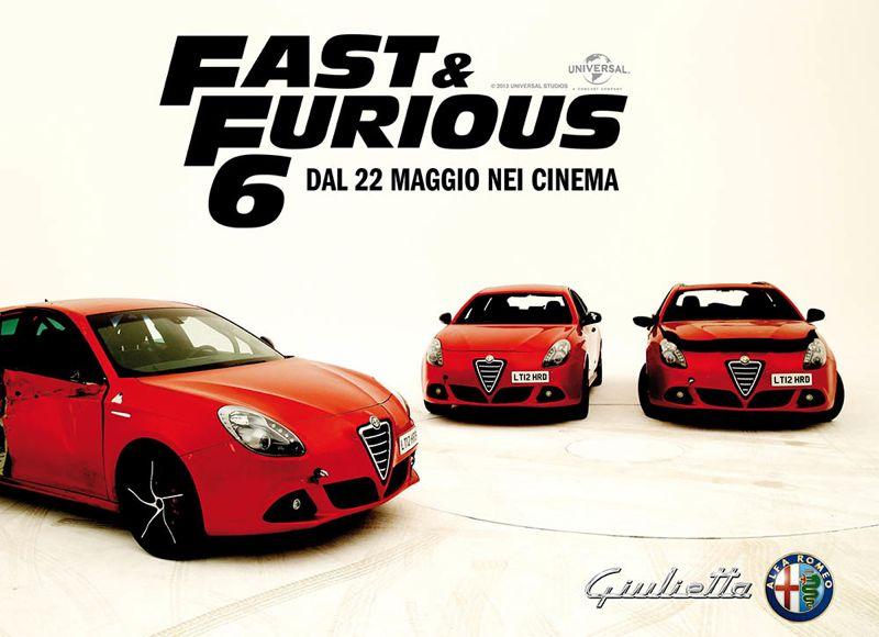 Alfa Romeo Giulietta dans Fast & Furious 6