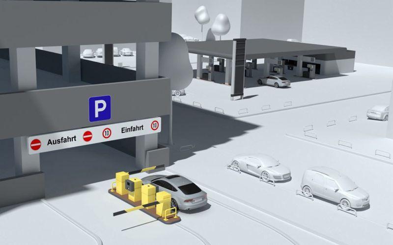 Parking automatisé AudiConnect