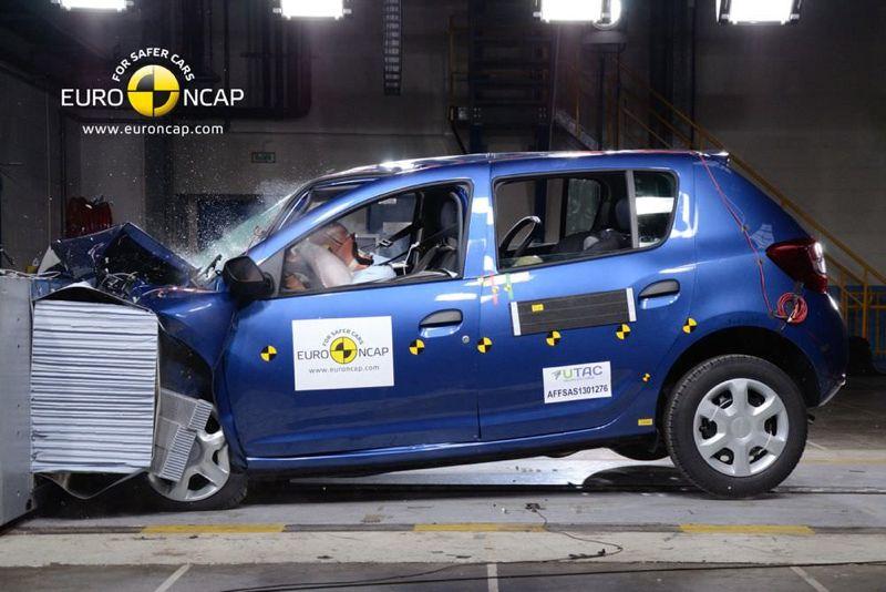 Crash test EuroNCAP 2013