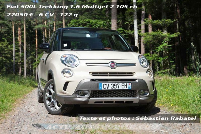 essai fiat 500l trekking en combinaison de baroudeur. Black Bedroom Furniture Sets. Home Design Ideas
