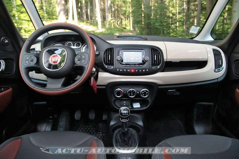 Essai Fiat 500L Trekking