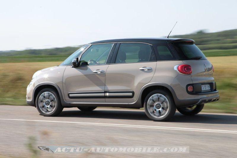Essai Fiat 500l Trekking En Combinaison De Baroudeur
