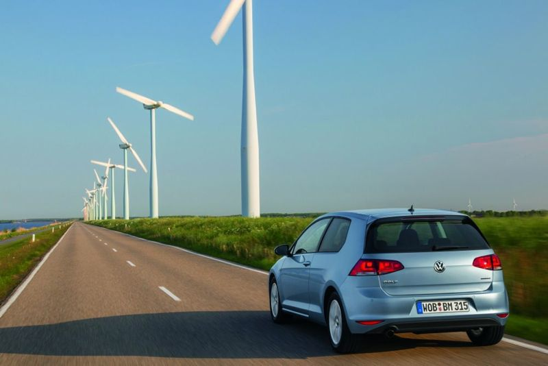 Nouvelle Volkswagen Golf BlueMotion
