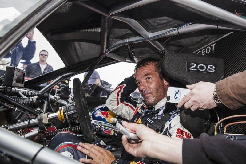 Victoire de Sébastien Loeb et de la Peugeot 208 T16 à Pikes Peak