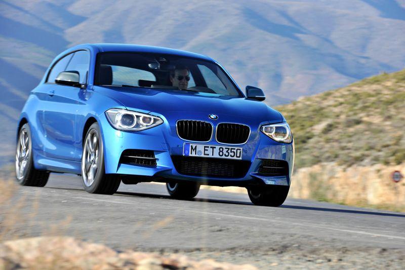 BMW Série 1 M design
