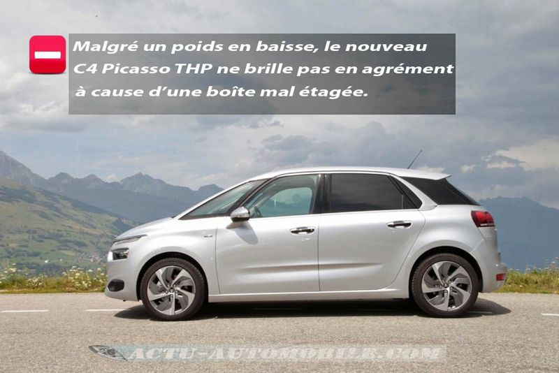 Profil nouveau Citroën C4 Pïcasso