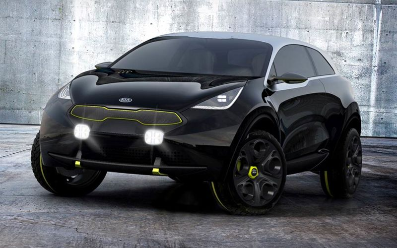 concept car kia niro futur suv urbain actu automobile. Black Bedroom Furniture Sets. Home Design Ideas