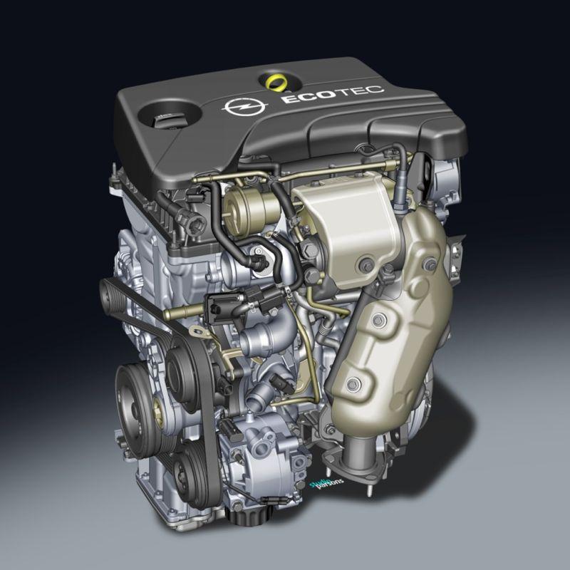 Moteur Opel 3 cylindres 1.0 SIDI