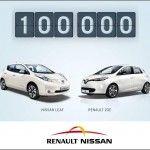 Renault-Nissan fêtent leurs 100.000 voitures électriques