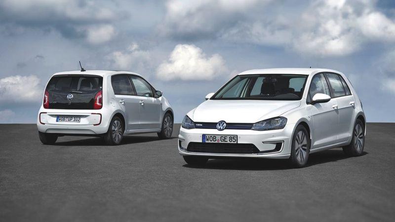 Volkswagen Golf électrique et up! électrique