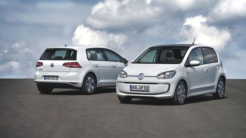 Volkswagen e-Golf et e-up!