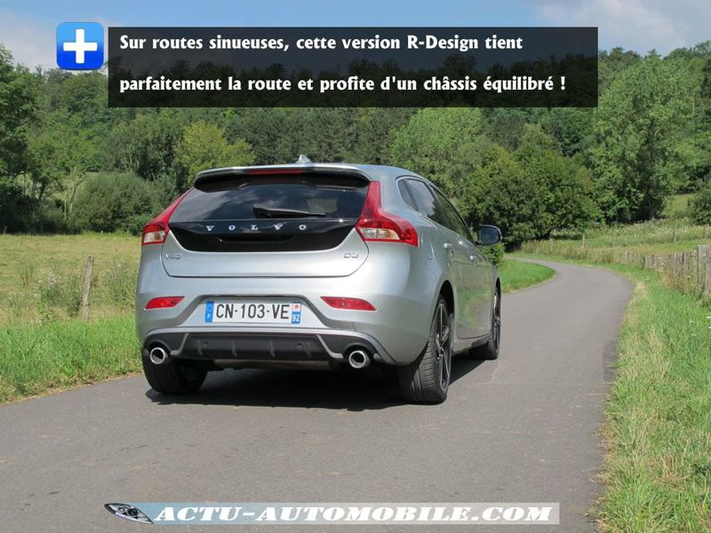 Tenue de route Volvo V40 R-Design