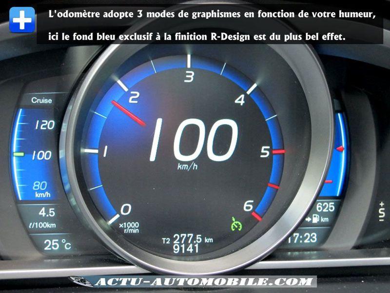 Compteur Volvo V40 R-Design