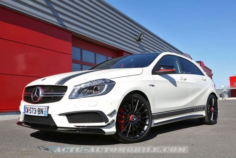 essai mercedes classe a 45 amg actu automobile. Black Bedroom Furniture Sets. Home Design Ideas