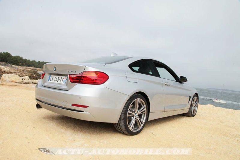 Essai BMW 428i Coupé