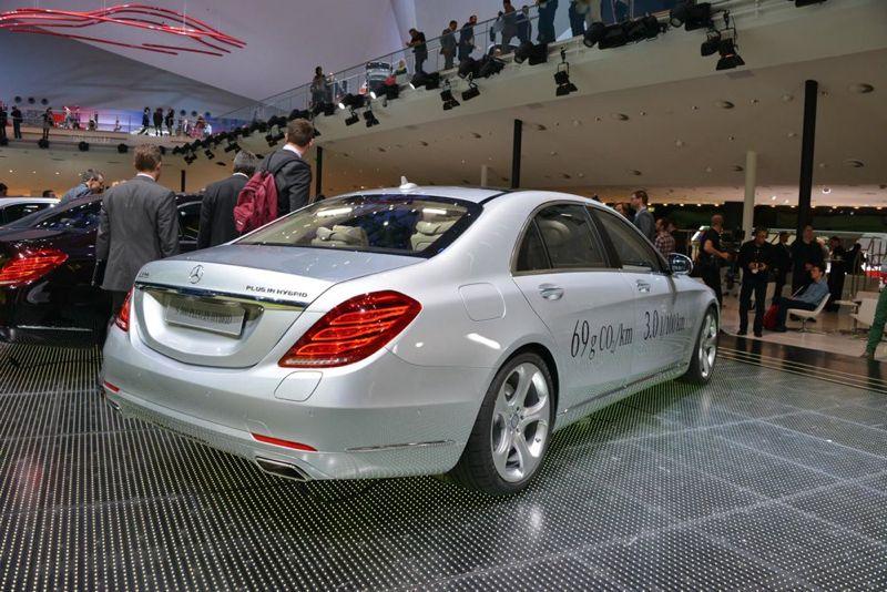 Mercedes Classe S 500 Plug-in Hybrid
