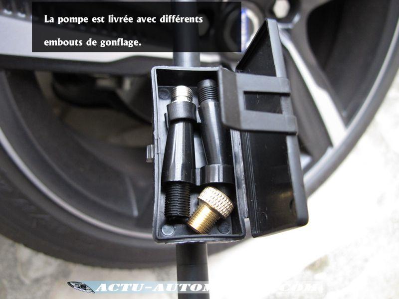 Pompe à pied double pistons Michelin